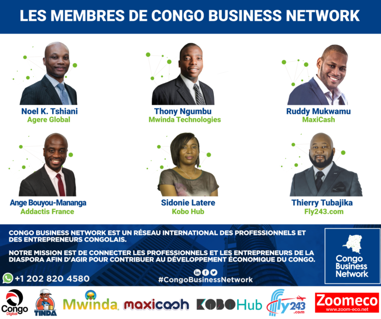 Congo Business Network connecte la diaspora aux entrepreneurs à Kinshasa